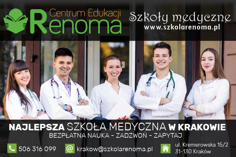 Szkoły medyczne RENOMA