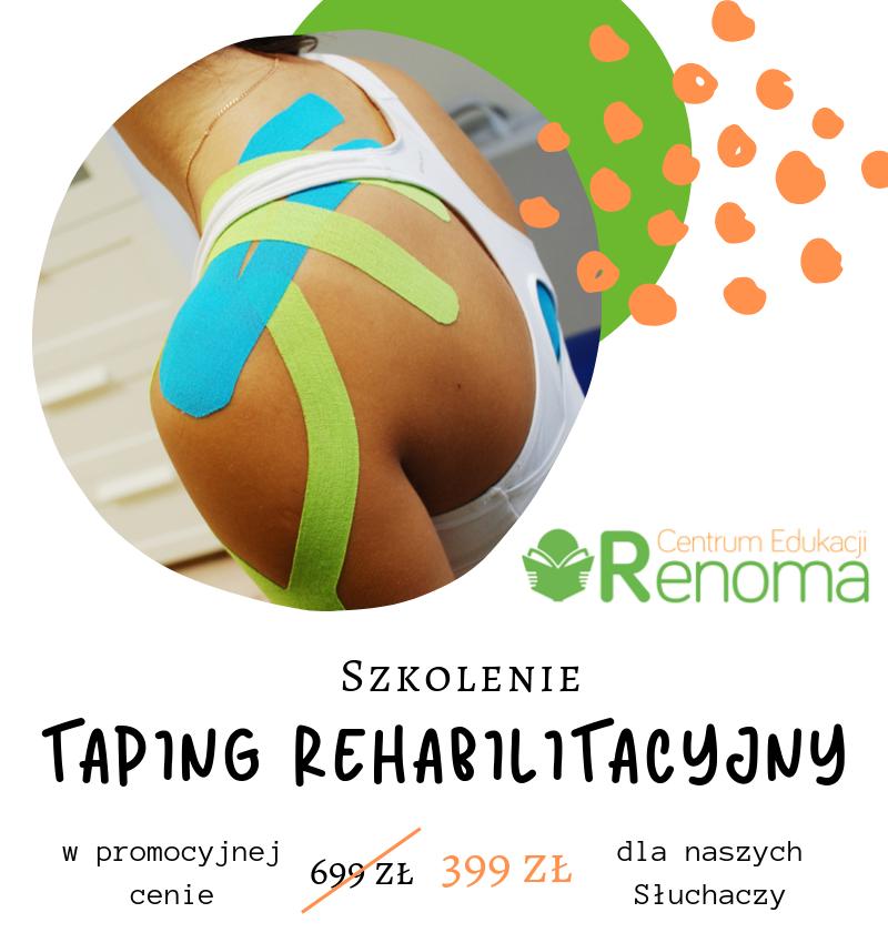 Taping rehabilitacyjny
