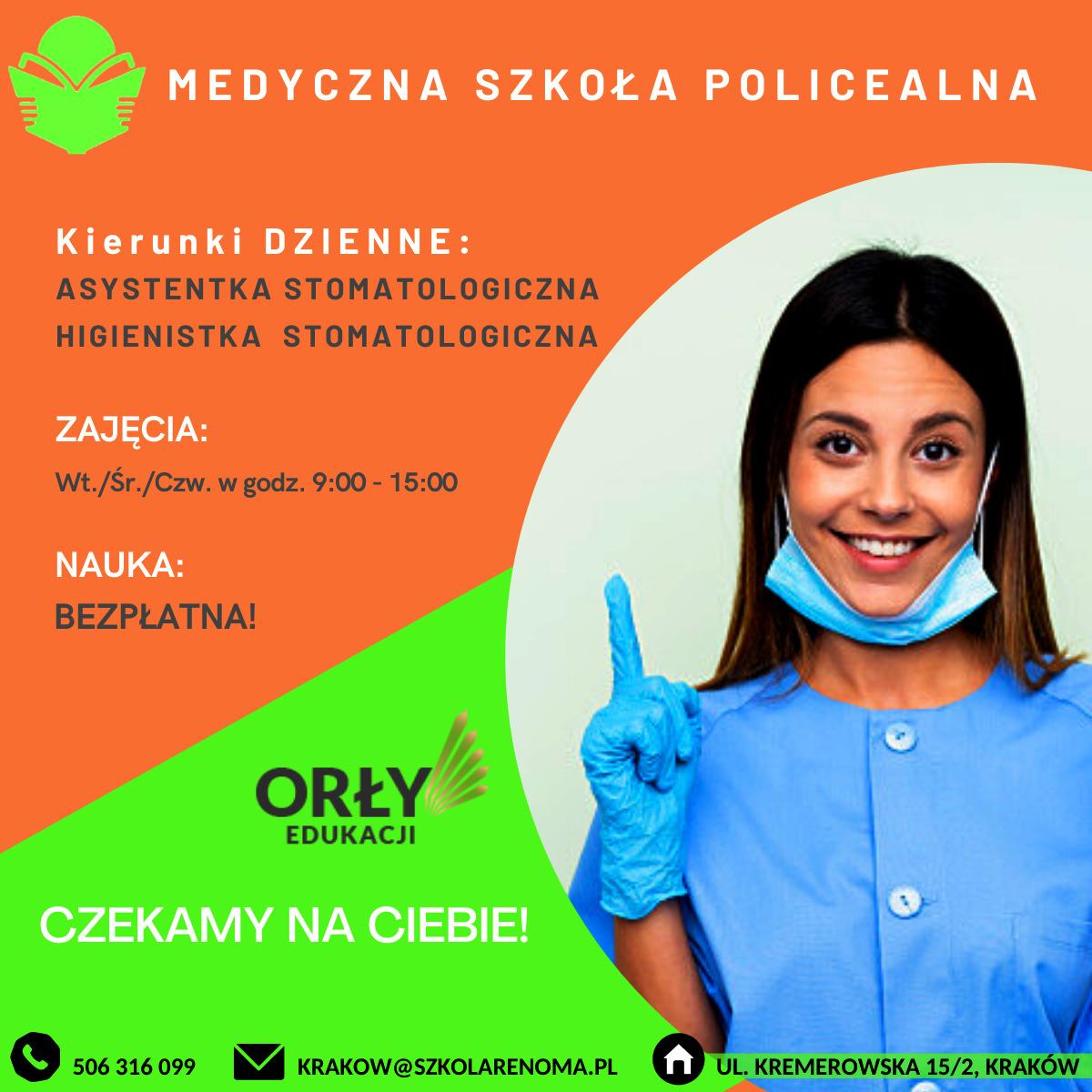Dzienna szkoła medyczna w Krakowie