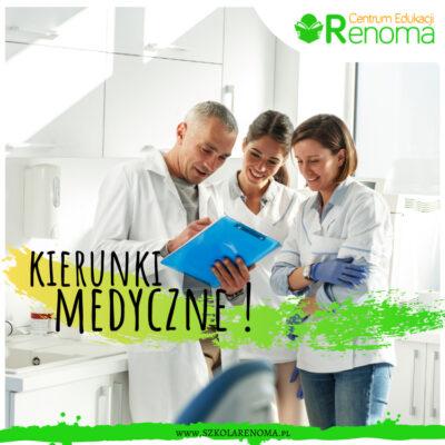 Kierunki medyczne