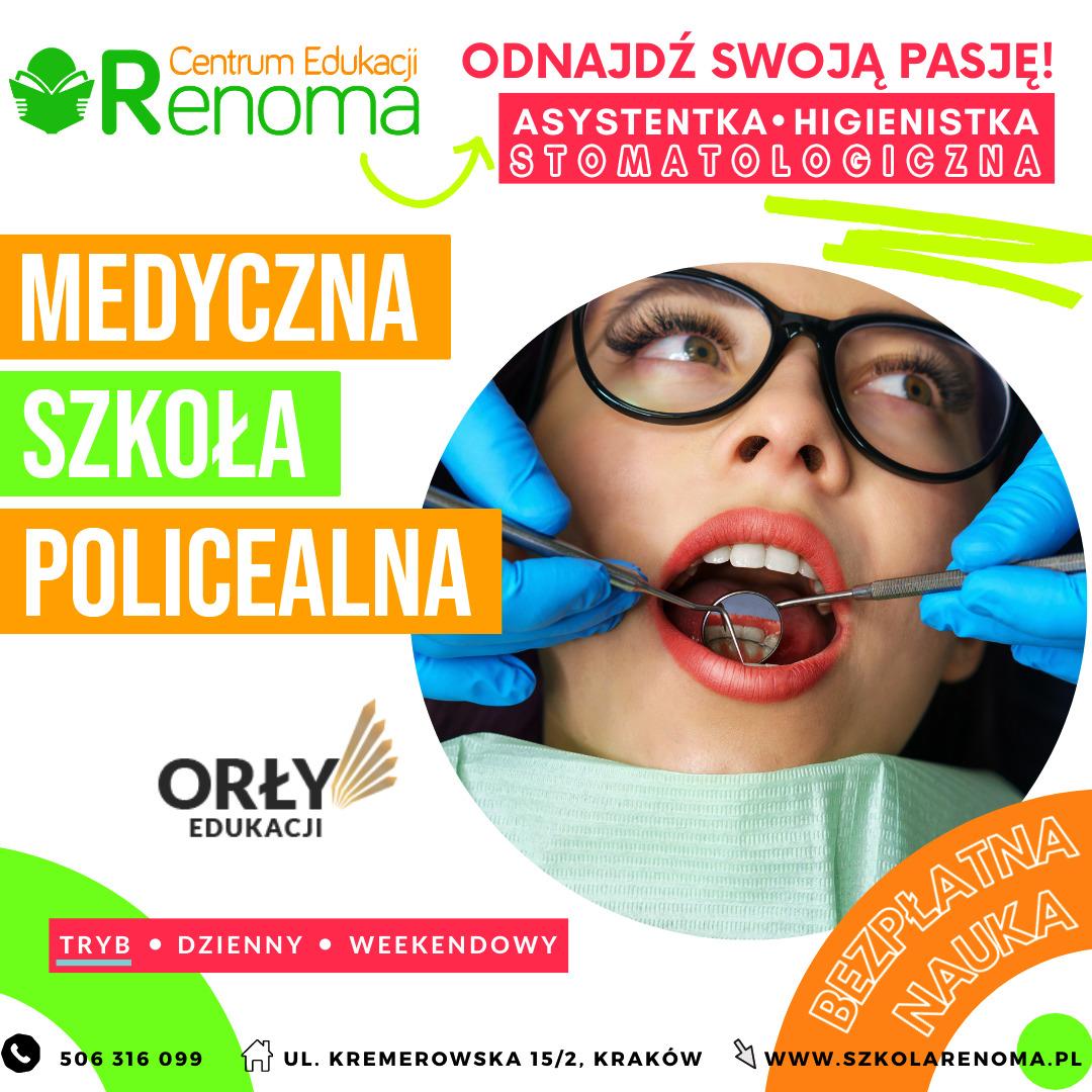 Asystentka Higienistka Stomatologiczna Kraków