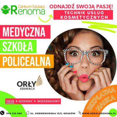 Technik usług kosmetycznych Kraków