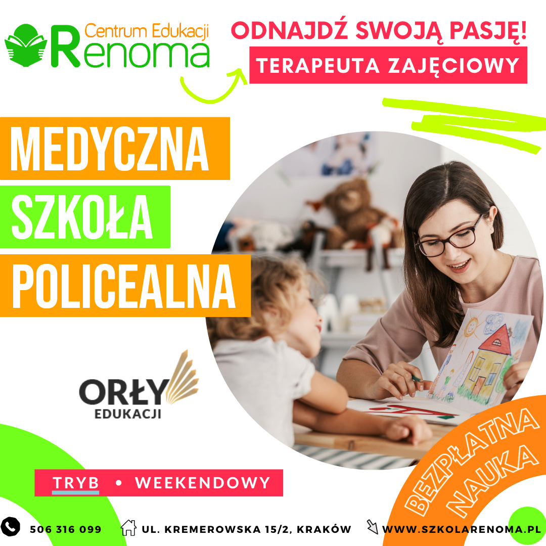 Terapeuta zajęciowy Kraków