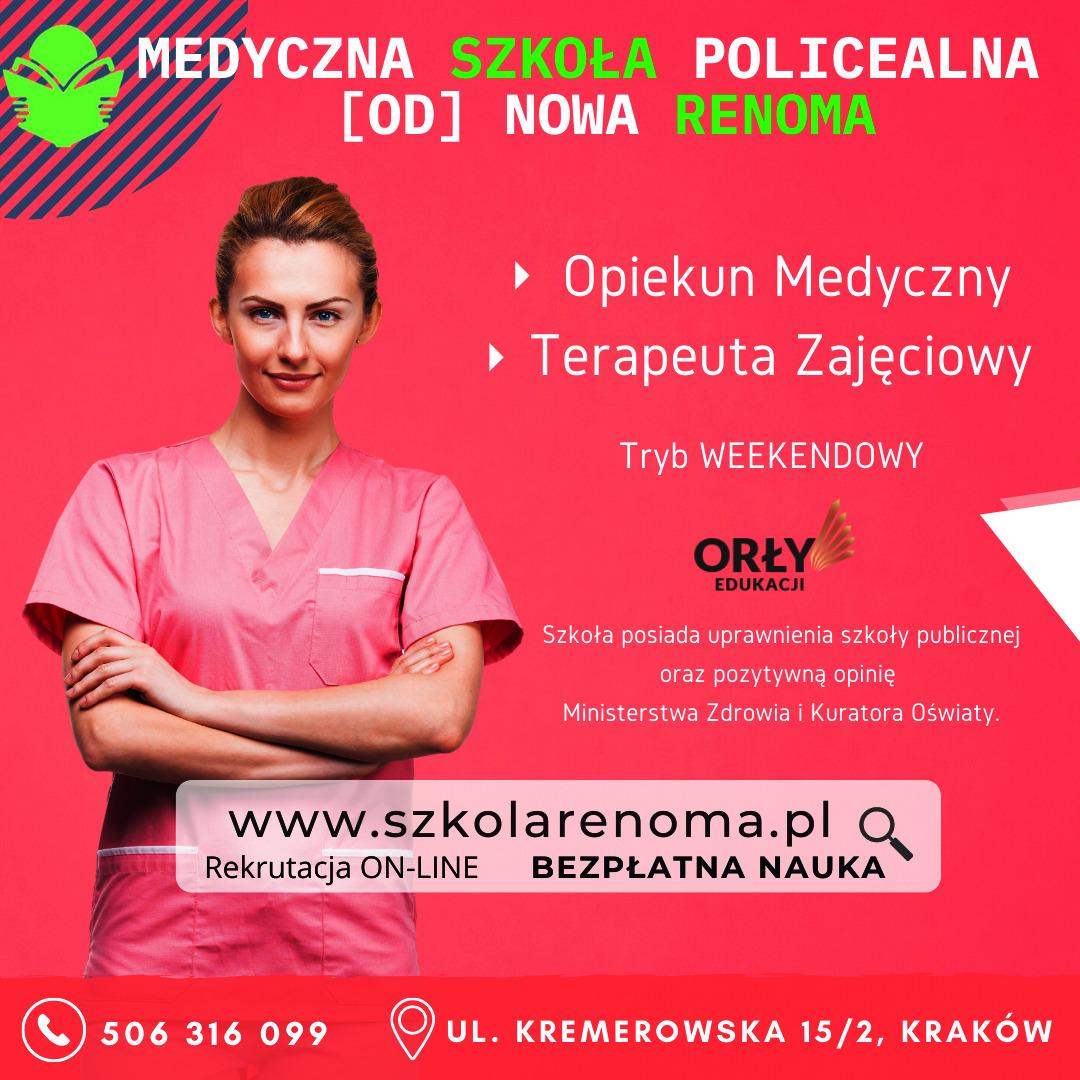 Opieka medyczna Kraków